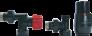 Axi eleganckie czarny polysk